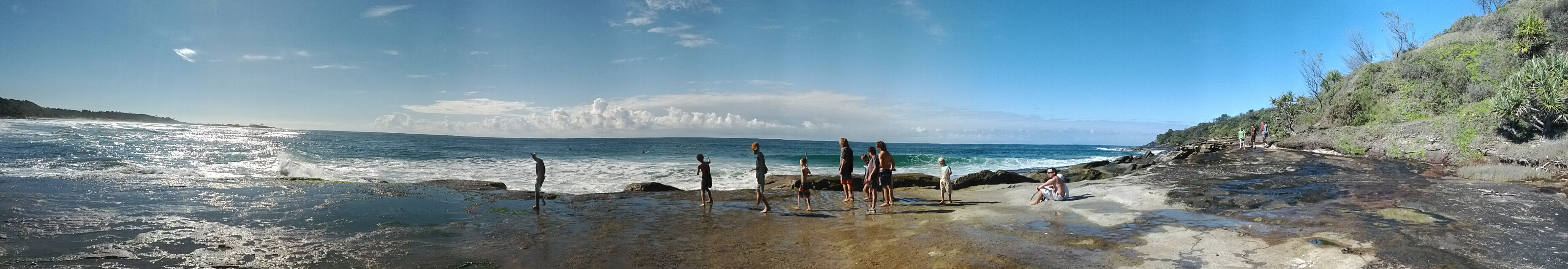 Byron Bay Uncle Project Beach Pano